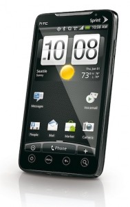 android smartphone with apps & 4G