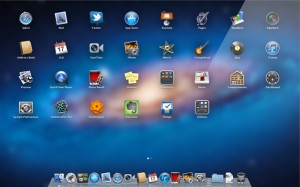osx lion launchpad mac new