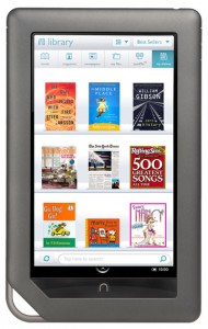 nook color e-reader